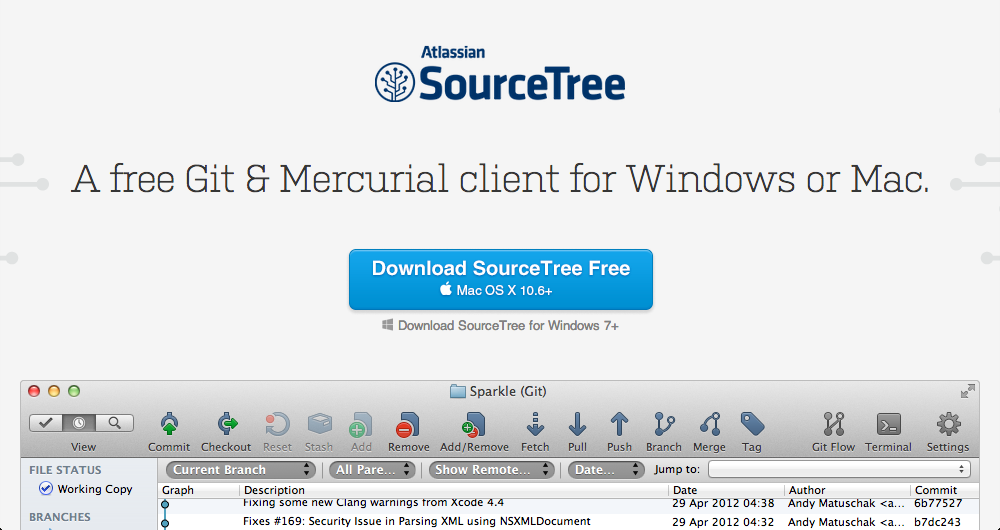 SourceTree and Git: How to use it - Rancoud